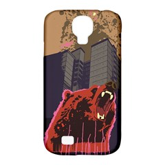 Urban Bear Samsung Galaxy S4 Classic Hardshell Case (PC+Silicone) by Contest1738792