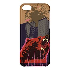 Urban Bear Apple Iphone 5c Hardshell Case by Contest1738792
