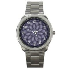 Spirograph Sport Metal Watch by Siebenhuehner