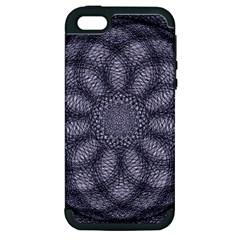 Spirograph Apple Iphone 5 Hardshell Case (pc+silicone) by Siebenhuehner