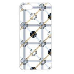 Circle Connection Apple Iphone 5 Seamless Case (white) by ContestDesigns