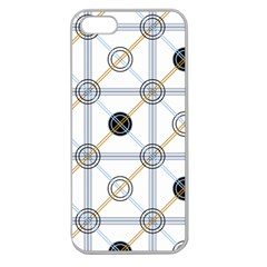 Circle Connection Apple Seamless Iphone 5 Case (clear) by ContestDesigns
