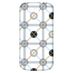 Circle Connection Samsung Galaxy S3 S Iii Classic Hardshell Back Case by ContestDesigns