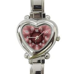 Spirograph Heart Italian Charm Watch  by Siebenhuehner