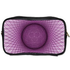 Spirograph Travel Toiletry Bag (two Sides) by Siebenhuehner