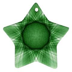Spirograph Star Ornament by Siebenhuehner