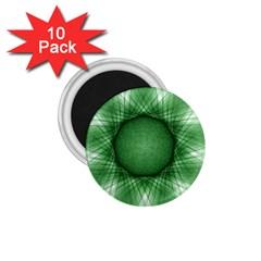 Spirograph 1 75  Button Magnet (10 Pack) by Siebenhuehner