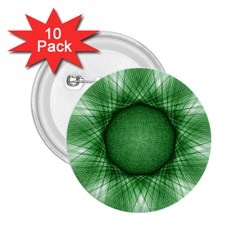 Spirograph 2 25  Button (10 Pack) by Siebenhuehner