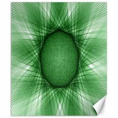 Spirograph Canvas 8  X 10  (unframed) by Siebenhuehner
