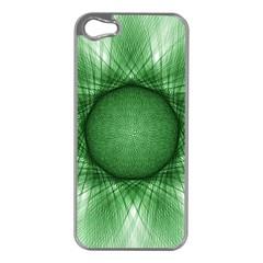 Spirograph Apple Iphone 5 Case (silver) by Siebenhuehner