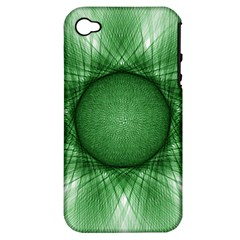 Spirograph Apple Iphone 4/4s Hardshell Case (pc+silicone) by Siebenhuehner