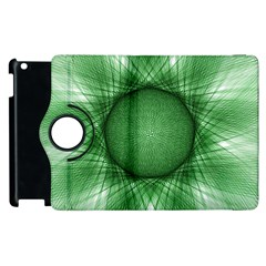 Spirograph Apple Ipad 3/4 Flip 360 Case by Siebenhuehner