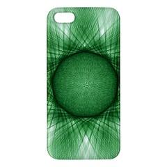 Spirograph Iphone 5 Premium Hardshell Case by Siebenhuehner