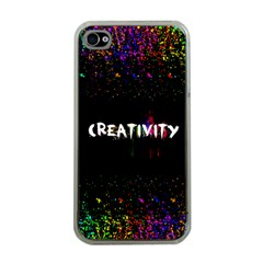 CREATIVITY. Apple iPhone 4 Case (Clear) by TheTalkingDead