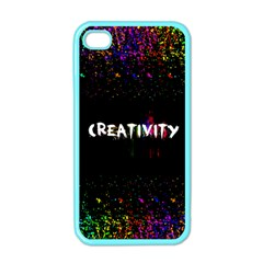 Creativity  Apple Iphone 4 Case (color) by TheTalkingDead