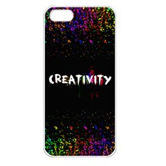 Creativity  Apple Iphone 5 Seamless Case (white) by TheTalkingDead