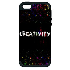 Creativity  Apple Iphone 5 Hardshell Case (pc+silicone) by TheTalkingDead