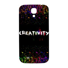 Creativity  Samsung Galaxy S4 I9500/i9505  Hardshell Back Case by TheTalkingDead