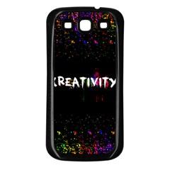 Creativity  Samsung Galaxy S3 Back Case (black) by TheTalkingDead