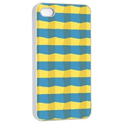 Beach Feel Apple iPhone 4/4s Seamless Case (White) by ContestDesigns