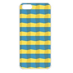 Beach Feel Apple Iphone 5 Seamless Case (white) by ContestDesigns