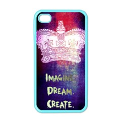 Imagine  Dream  Create  Apple Iphone 4 Case (color) by TheTalkingDead