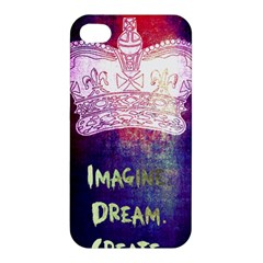 Imagine  Dream  Create  Apple Iphone 4/4s Premium Hardshell Case by TheTalkingDead