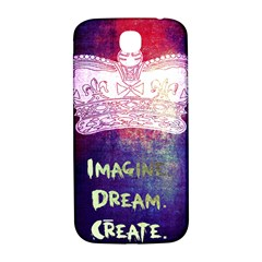 Imagine  Dream  Create  Samsung Galaxy S4 I9500/i9505  Hardshell Back Case by TheTalkingDead