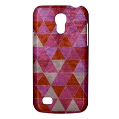 Tricolor Samsung Galaxy S4 Mini Hardshell Case  by ILANA