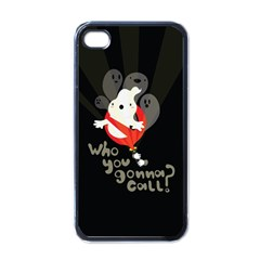 Who You Gonna Call Apple Iphone 4 Case (black) by Contest1771913