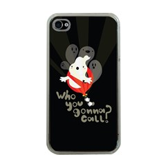 Who You Gonna Call Apple Iphone 4 Case (clear) by Contest1771913