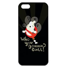 Who You Gonna Call Apple Iphone 5 Seamless Case (black) by Contest1771913