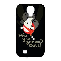 Who you gonna call Samsung Galaxy S4 Classic Hardshell Case (PC+Silicone) by Contest1771913