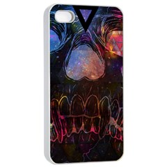 Third Eye Cosmic Apple Iphone 4/4s Seamless Case (white) by Contest1775858a