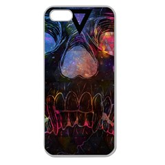 Third Eye Cosmic Apple Seamless iPhone 5 Case (Clear) by Contest1775858a