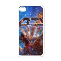 Cosmic Diamond Apple Iphone 4 Case (white) by Contest1775858a