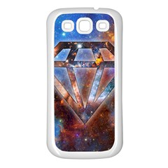 Cosmic Diamond Samsung Galaxy S3 Back Case (white) by Contest1775858a