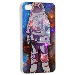 The Astronaut Apple Iphone 4/4s Seamless Case (white) by Contest1775858a