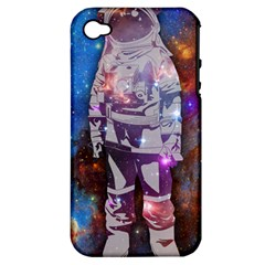 The Astronaut Apple Iphone 4/4s Hardshell Case (pc+silicone) by Contest1775858a