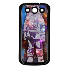 The Astronaut Samsung Galaxy S3 Back Case (Black) by Contest1775858a