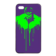 Incredible Green Apple Iphone 4/4s Seamless Case (black) by Contest1769124