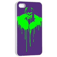 Incredible Green Apple Iphone 4/4s Seamless Case (white) by Contest1769124