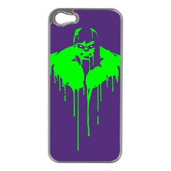 Incredible Green Apple Iphone 5 Case (silver) by Contest1769124