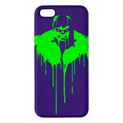 Incredible Green Iphone 5 Premium Hardshell Case by Contest1769124