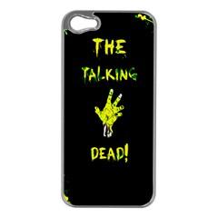 The Talking Dead Apple Iphone 5 Case (silver) by TheTalkingDead