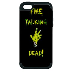 The Talking Dead Apple iPhone 5 Hardshell Case (PC+Silicone) by TheTalkingDead