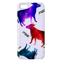 Cowcow   Cow  Iphone 5s Premium Hardshell Case by TheTalkingDead