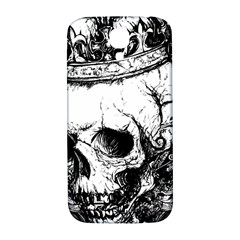Skull King Samsung Galaxy S4 I9500/i9505  Hardshell Back Case by TheTalkingDead
