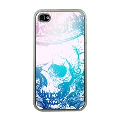Skull King Colors Apple Iphone 4 Case (clear) by TheTalkingDead