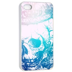 Skull King Colors Apple Iphone 4/4s Seamless Case (white) by TheTalkingDead